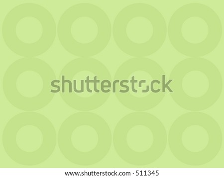 Green vector background with circles