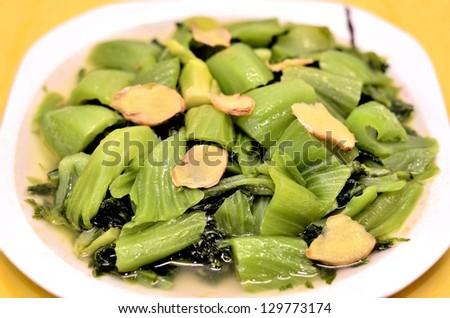 Green vegetable dish