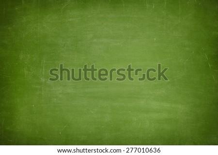 Green vintage full frame blank blackboard no frame