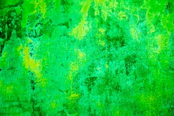 green vintage or grungy background of natural cement, stone or plaster with mesh backing. old wall plaster texture with mesh backing as retro pattern layout or background. High quality resolution.