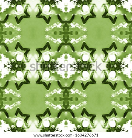 Green Vintage Repeat Pattern Tile. Ornate Tile Background Ornate Tile Background Yellow Green Oriental style. Dark Texture. Luxury Kaleidoscope Art. Floral Pattern. Floral Design.