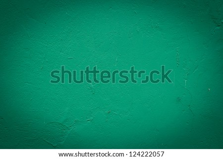 Green wall background or texture