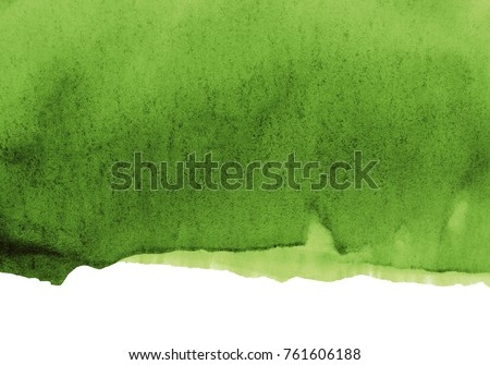 green watercolor stain, effective color background