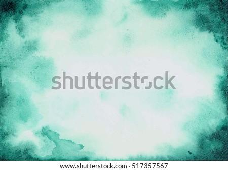 green watercolor texture streaks #517357567