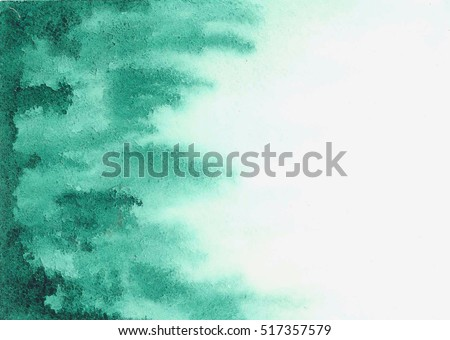 green watercolor texture streaks