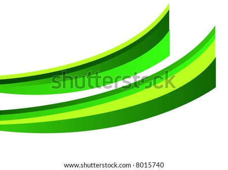 green waves graph pattern
