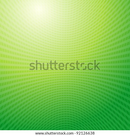 green waves Grid abstract light background raster. Vector copy search in my portfolio