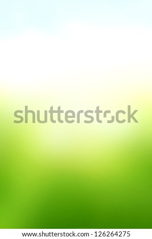Green white and blue abstract background