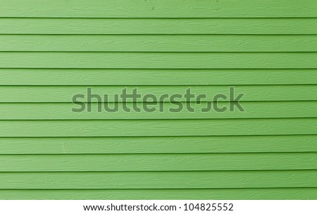 green wood panels background