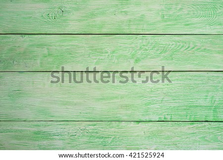 green wooden wall. natural green wood background