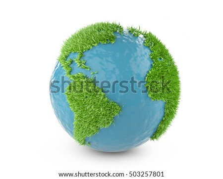 green world concept with...