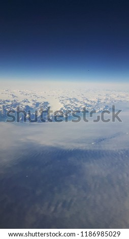 Greenland from the air #1186985029