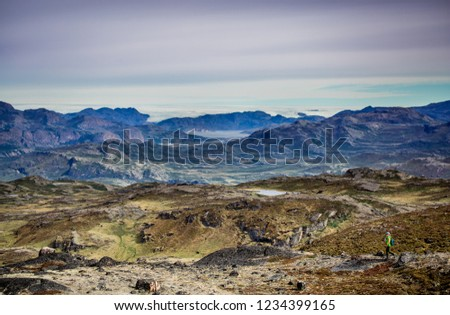 Greenland Hiking Adventure Travel #1234399165