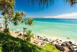 Greenmount beach on Queensland's Gold Coast, Australia
