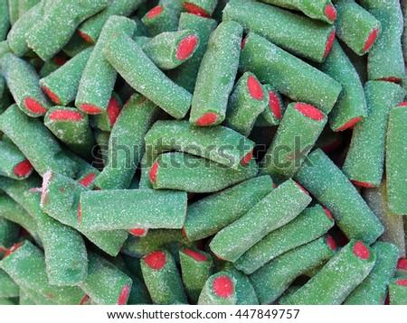 Greens candy Stok fotoğraf ©