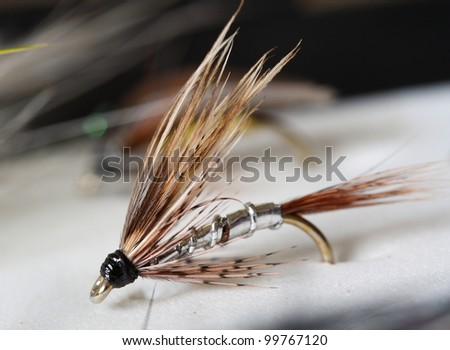 Greenwell's Glory - Artificial fly used for trout fishing.