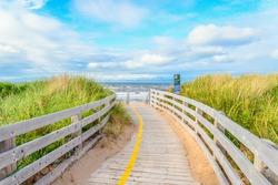Greenwich Beach Boardwalk (Prince Edward Island, Canada)