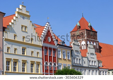 Greifswald, st.marien, University City, caspar david friedrich,