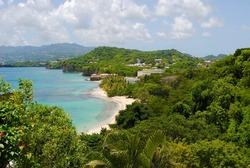 Grenada South Coast Bird's Eye View