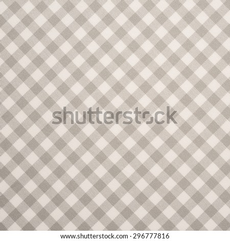 Grey and white tablecloth background