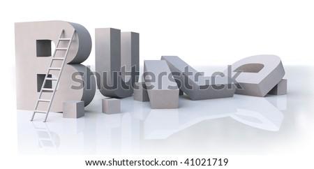 "Grey ""build"" word in process"