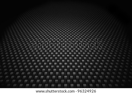 Grey carbon fiber background