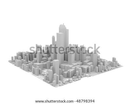 grey city model