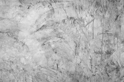 grey concrete wall - texture of exposed concrete,old gray concrete wall for background,old grungy texture, Black and white concrete wall texture use for wallpaper or background.