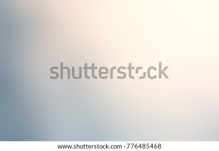 Grey empty background. Vintage blurred texture. Defocused grunge illustration. Warm light, cold shadow.