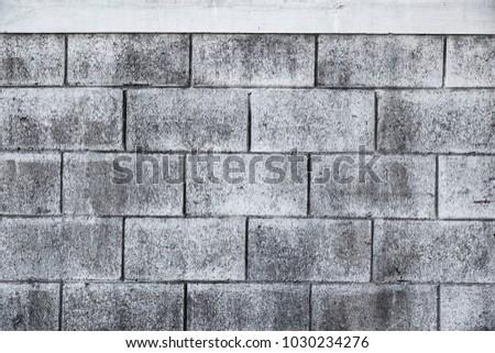grey empty brink wall background.