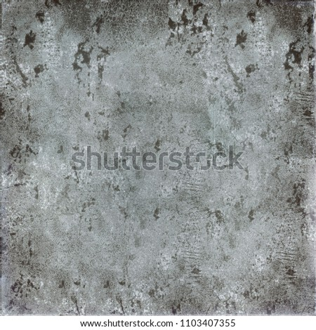 Grey grunge background. Texture of old vintage surface #1103407355
