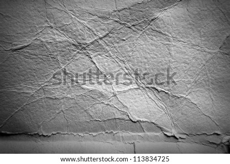 Grey grunge wrinkled background