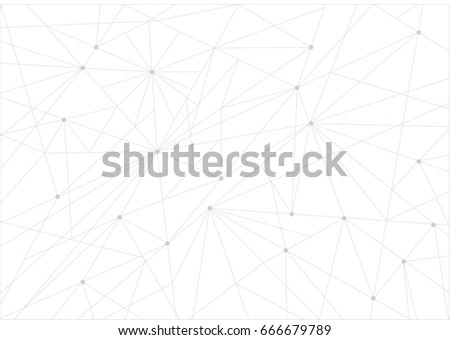 grey link technology network illustration design background