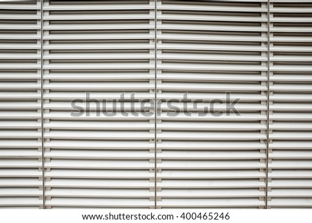 Grey Louvers Background Poster Window Blinds Template Banner Ez