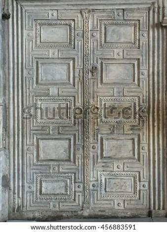 Grey marble door at Hagia Sofia in Istanbul Turkey & Marble Door in Hagia Sophia in Istanbul Turkey Door Free Photos ...