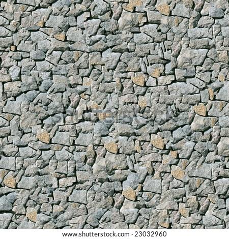 Grey masonry seamless background (wallpaper).