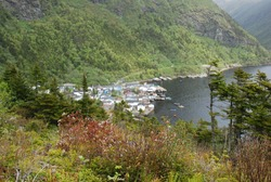 Grey River, Newfoundland is a beautiful remote outport community only accessible by ferry