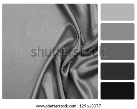 Grey Satin Color Palette