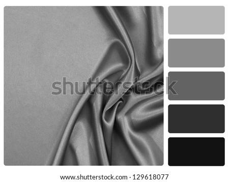 Grey Satin Color Palette
