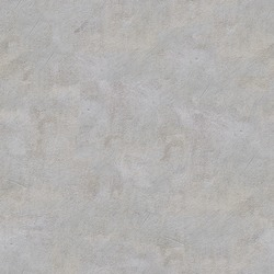 Grey Smoothly Plastered Concrete Wall. Seamless Tileable Texture.
