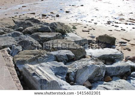 Grey stones in grey city #1415602301