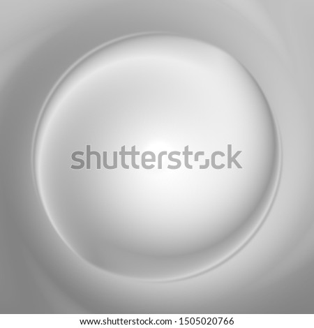 Grey swirl deep motion perspective background.
