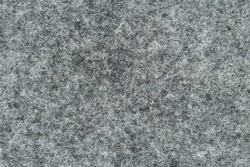 Grey synthetic felt seamless fabric, Texture background, Close up