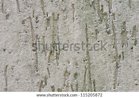 Grey wall texture or background - stock photo