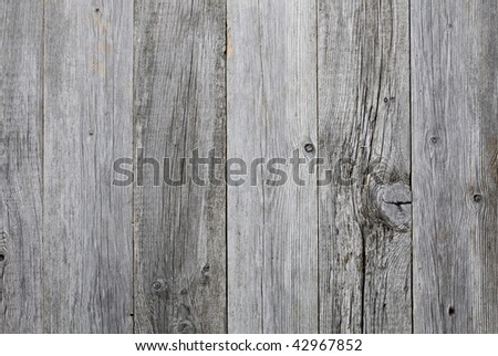 Grey weathered wooden background texture