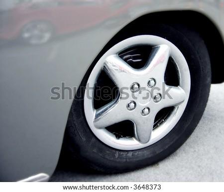 grey wheel well