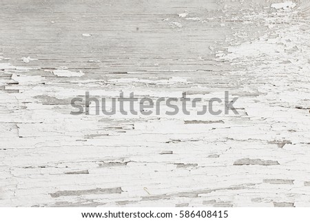 Grey White Wooden Background Of Weathered Distressed Rustic Wood With Faded Paint 586408415