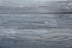 Grey wood texture and background. Grey blue wood texture background. Rustic, old wooden background. Aged wood planks texture pattern. Wooden surface. Vertical image.