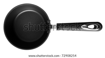 Griddle isolated on the white background. Clipping path included.