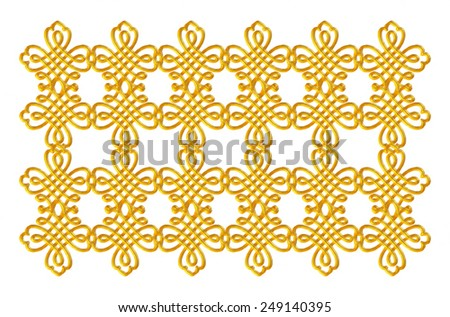 grill design in gold metallic on isolated white background. #249140395